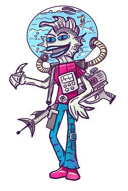 Intergalactiv Kammerjäger Alien